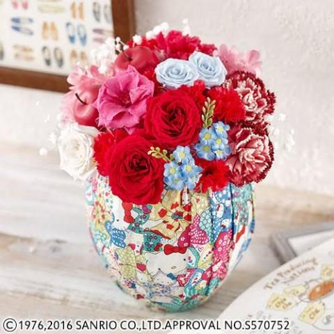 大橋 2月5本目 フラワー関連2 日比谷花壇 × ハローキティ 限定コラボアイテム!! 大切なあの人へのプレゼントに♡