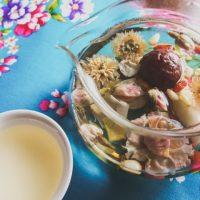 カップの中に花が咲く!美しい工芸茶をリラックスタイムのお供に♪